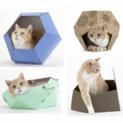 UNITED PETS CAT IN THE BOX キャットボックス 全4色